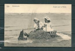 MIDDELKERKE: Surpris Par La Marée,  Gelopen Postkaart 1911 (GA13032) - Middelkerke