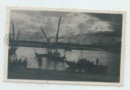 Nha Trang (Viêt-Nâm) : Vue Des Barques Dans Le Port Au Crépuscule En 1950 (animé) CP PHOTO PF. - Viêt-Nam