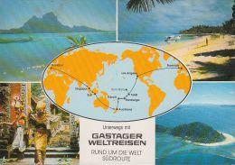 Fidschi  - Gastager Weltreisen - MAP - Nice Stamp - Fidschi
