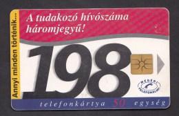 Hongarije / Hungary ,P-1997 - A Tudakozö   -  2 Scans. - Hongarije