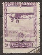España U 0451 (o) Expo Sevilla Y Barcelona. 1929. Foto Exacta - Gebraucht