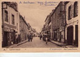Landivisiau.. Animée.. Rue Louis Pasteur.. Commerces.. Salon De Coiffure Pour Dames.. Bus.. Autocar - Landivisiau