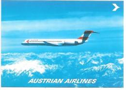 AVION McDonnell Douglas MD-81 - AUSTRIAN AIRLINES - 1946-....: Moderne