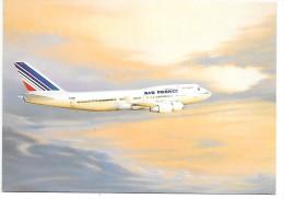 AVION BOEING 747 400 - AIR FRANCE - 1946-....: Moderne