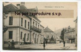 - Giromany - Hôtel De Ville, Animation, écrite En  Février 1917, Voyagé Dans Enveloppe, TBE, Sans. . - Giromagny