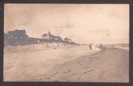 GE382) Wittdün A. Amrum - Beach Scene - 1922 RPPC - Föhr