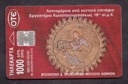 Greece  ,P-2000 BYZANTINE & CHRISTIAN MUSEUM   -  2 Scans. - Greece