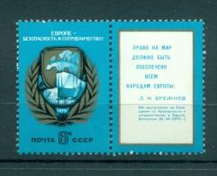 Russie - USSR 1975 - Michel N. 4390 - Accords D'Helsinki - 1923-1991 USSR
