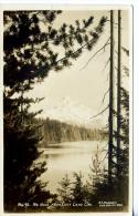 Real Photo - Mt. Hood From Lost Lake - Oregon - 1938 - Etats-Unis