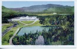 Saco Lake - Crowford House From The Mt Washington Hotel - New Hampshire - Etats-Unis