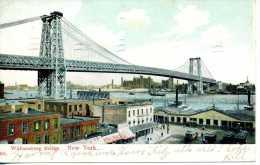 Williamsburg Bridge - New York City - 1907 - Ponts & Tunnels