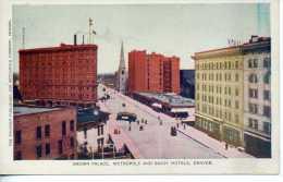 Brown Palace Metropole And Savoy Hotels - Denver - Colorado - Denver