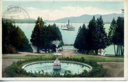 Fort William Henry Hotel - Lake George - New York - 1908 - Lake George