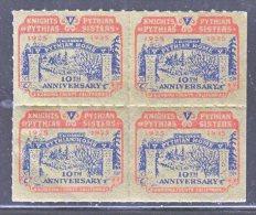 PYTHIAN  KNIGHTS  HOME,  SONOMA,  CALIFORNIA 1935    ** - United States