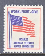 DISABLED  AMERICAN  VETERANS   LABEL    * - United States