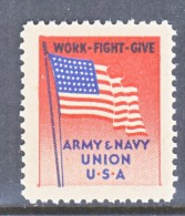 ARMY  AND  NAVY  UNION   LABEL    * - United States