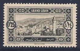 Lebanon, Scott #51 Mint Hinged Beyrouth, 1925 - Lebanon