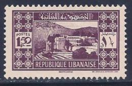 Lebanon, Scott #153 Mint Hinged Beiteddine, 1939 - Lebanon