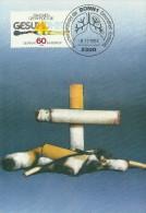 Germany 1984 Anti Smoking Campaign, Maximum Card - Maximum Kaarten