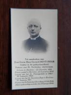 Z.E.H. Gerard DENTENEER Pastoot St. Norbertus Antwerpen - Mechelen 22 Dec 1881 - 31 Jan 1944 Zurenborg ( DP ) ! - Religion & Esotérisme