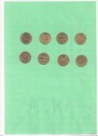 Numismatique - B1181  -  Lot Vrac 8 Jetons SHELL   ( Type, Nature, Valeur, état... Voir Double Scan) - Jetons & Médailles