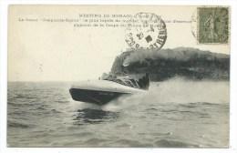 "CPA -MEETING DE MONACO -CANOT ""DESPUJOLS-SIGMA"" -Plus Rapide Monde, Gagnant Coupe Prince De Monaco -Circulé 1918 -Bateau - Altri"