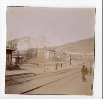 No CPA - Photographie Ancienne - ITALIE - BADONECHE - BARDONECCHIA Gare Circa 1900 - Italia