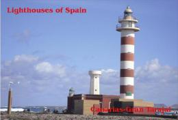 Lighthouses Of Islas Canarias (Spain) - Postcard Collection - Gran Tarajal-Fuerteventura - Lighthouses