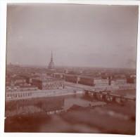 No CPA - Lot De 5 Photographies Anciennes - ITALIE - TURIN - TORINO Circa 1900 - Collezioni & Lotti
