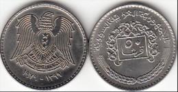 SIRIA 50 PIASTRES 1979 ( Syrian Arabic Republic) - KM#119 - Used - Siria