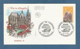 *  Enveloppe 1er Jour  : 22  Avril 1972 :  STRASBOURG..( Dépt 67  )..EUROPA - CONSEIL DE  L´EUROPE - FDC