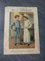 CUISINIER Foie Gras, Image Belle Jardinière 11X15 Cm Vers 1900  ; 757 VP 32 - Publicités