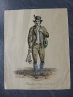 Marchand De Peaux De Lapin, Gravure Ancienne Carle Vernet ? 15X18 Cm  ; 775 VP 32 - Estampes & Gravures