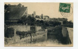 CP , 89 , VEZELAY , Vue Prise Du Chemein De Ronde - Vezelay