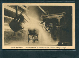 57 - Hagondange : Usine RENAULT - Four électrique De 20 Tonnes Des Aciéries - Hagondange