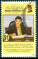 BRUNEI 1998 Proclamation Ceremony Of His Royal Highness Paduka $1, VF Used - Brunei (1984-...)
