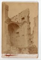 No CPA Photographie Ancienne Circa 1890 - 41 - Ruines Du Château De Lavardin - - France