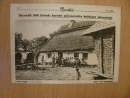 Russia Ukraine Galizia- Behing The Battlefield -Officer's Casino- WWI -grande Guerre 1916-18 - Military -  Print   W37 - Militaria