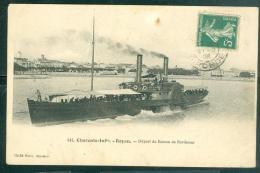 N°141  -  Royan - Départ Du Bateau De Bordeaux     LFL88 - Ferries