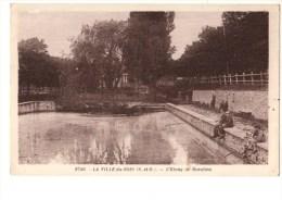 91-----LA VILLE-DU-BOIS---l'étang De Beaulieu---voir 2 Scans - Autres Communes
