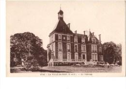 C P A-C P S M-------91---------LA VILLE-DU-BOIS----------le Château-----voir 2 Scans - Autres Communes