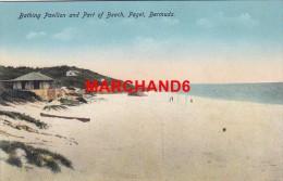 Bermudes Bermuda Bathing Pavilion And Part Of Beach Paget éditeur Phoenix Drug Hamilton - Bermudes