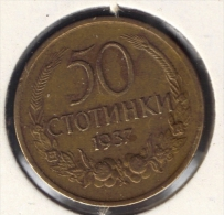 BULGARIA 50 STOTINKI 1937 - Bulgaria