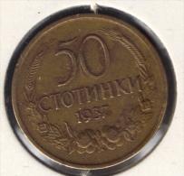 BULGARIA 50 STOTINKI 1937 - Bulgarie