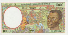 Central African States 1000 Francs 1995 Pick 502Nc UNC - Centraal-Afrikaanse Staten