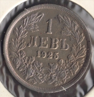 BULGARIA 1 LEV 1925 - Bulgaria