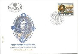 Yugoslavia 1989. FDC Slava Vojvodine Kranjske 1689-1989. - FDC