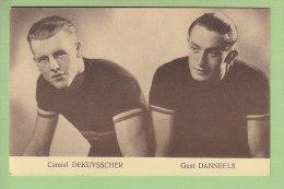 Camiel DEKUYSSCHER Et Gust DANNEELS. 2 Scans. Edition Sportkaarten Frank Nels - Cyclisme