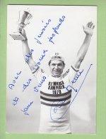 Camille LE MENN, Autographe Manuscrit, Dédicace. 2 Scans. - Cyclisme