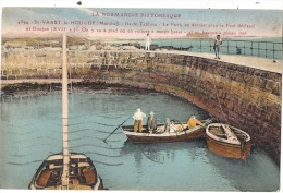 ST VAAST  La Hougue Ile De Tatihou Le Port - TTB Timbrée - - Saint Vaast La Hougue